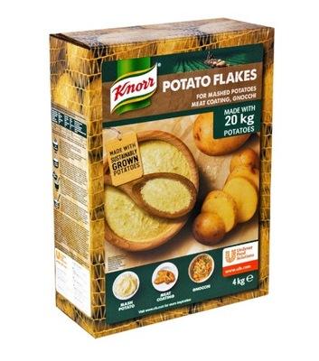 Мгновенные Пюре хлопья картофельные Knorr 4КГ