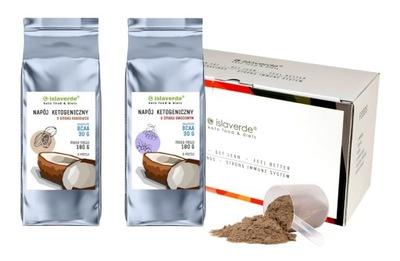 Keto-dieta z BCAA redukcja tłuszczu 6 dni x900kcal