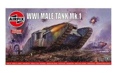 Танк первой мировой войны Mk Male.И модель ??? склеивания Airfix