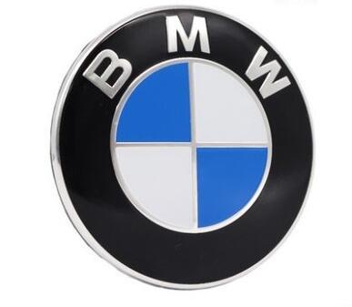 BMW EMBLEMA INSIGNIA LOGOTIPO 82MM AL CAPO TAPA DE MALETERO