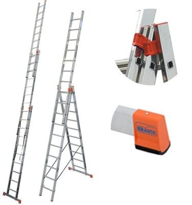 Краузе лестница Tribilo 3x10 ступеней 129680 7 ,65м