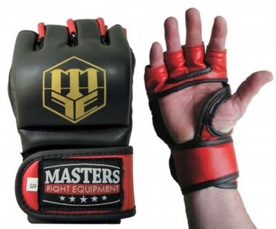 Rękawice chwytne do MMA na worek MASTERS GF-30 S