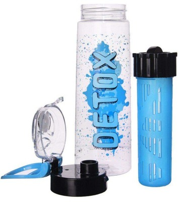 Bidon butelka na wodę z wkładem na lód 730 ml