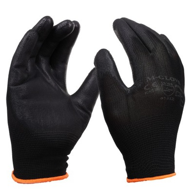 перчатки перчатки рабочие ПОЛИУРЕТАНОВЫЕ PU r10