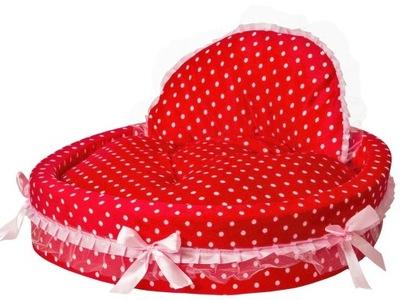 логово для маленькой собаки розовое диван 42x42 Йорк
