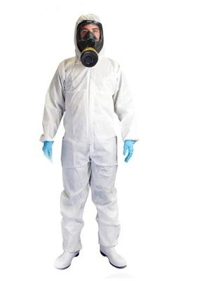 Kombinezon ochronny Chemplast Xtreme biały r. L
