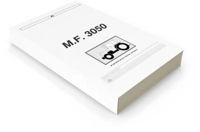 KATALOG ЗАПЧАСТИ MF 3050 MASSEY FERGUSON 3060 3070