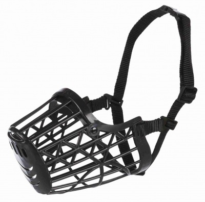 Намордник для собаки пластиковый с сеткой Л TX-17605