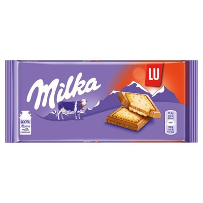Milka Czekolada mleczna Lu 87 g