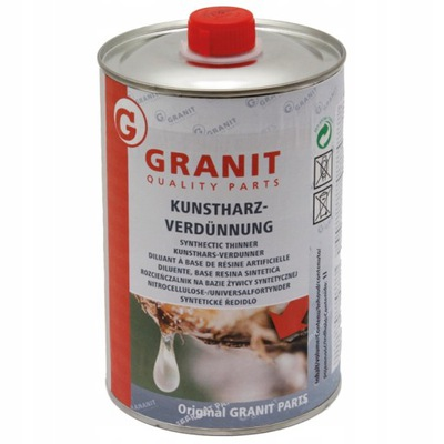 Rozcieńczalnik niemiecki do lakierów 1l GRANIT