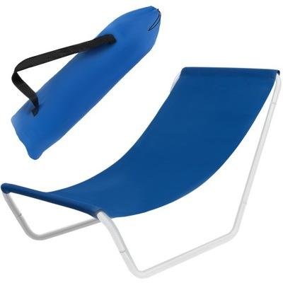 Leżak Fotel Plażowy Ogrodowy Składany + Torba