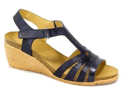 Sandały Ana Roman 18313 1+Cul Matt Mirror Cob r.37