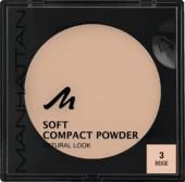 MANHATTAN Soft Compact Powder 9g. 3 Beige
