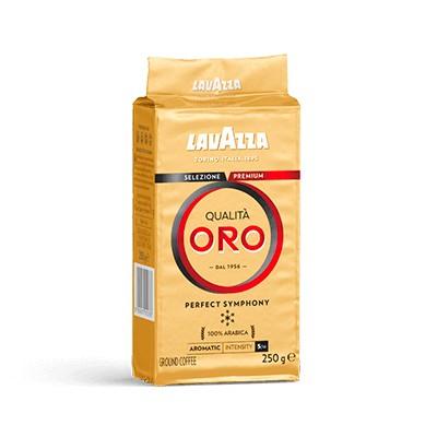 кофе молотая Lavazza QUALITA ORO 250г 100 % Арабика