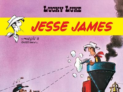LUCKY LUKE - JASSE JAMES - 92r.