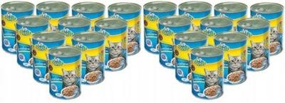 корм для кошек с Лососем Бэзил банка 415 ? x 20