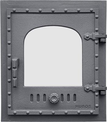 Liatinové dvere, dvere kúreniska, HUBOS