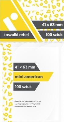 Koszulki na karty 41 x 63 mm Mini American