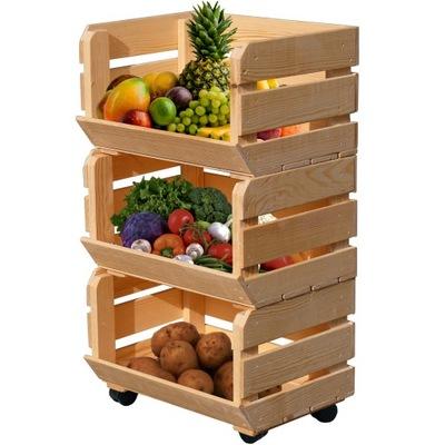 ящики Овощи фрукты кольца СТЕЛЛАЖ КОНТЕЙНЕР