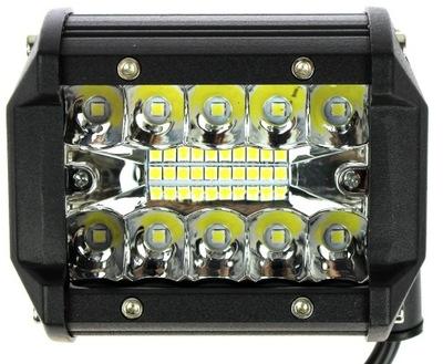 ФАРА РАБОЧАЯ 20 LED (СВЕТОДИОД ) ПАНЕЛЬ 60W CREE 12V - 24V