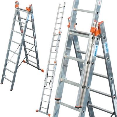 Лестница алюминиевая 3x10 Краузе MONTO 7 ,70м 129680