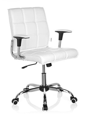 Fotel obrotowy HJH office biały
