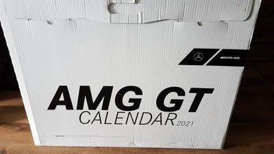 AMG Kalendarz 2021 Nowy! 70cm x 50cm