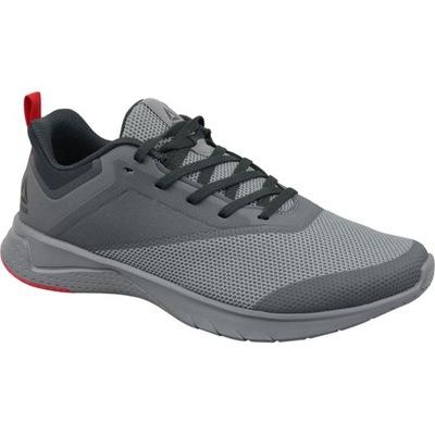 Szare Tekstylne Buty M?skie Sportowe Adidas rozmiar 41