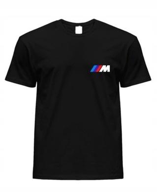 KOSZULKA BMW M-POWER czarna męska XXL, 2XL