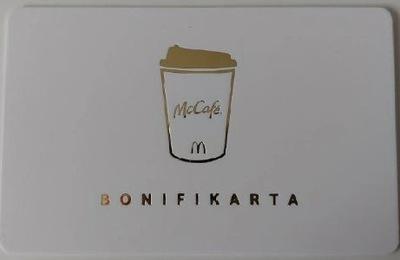 Koperta + bonifikarta McDonalds