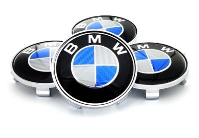 KAPSEL КОЛПАЧКИ НА ДИСКИ BMW E36 E46 КАРБОН 68MM