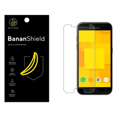 Szkło Hartowane POLSKI BANAN 9H do Samsung A3 2017