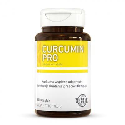 Curcumin Pro 30 kaps stany zapalne, wątroba, stawy