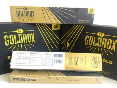 Электроды розовое rutylowe GoldRox 4 ,Ноль Esab 2 ,4 КГ