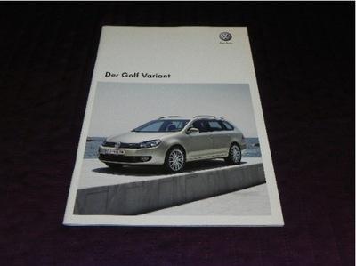 VW Volkswagen Golf Variant Golf 6 VI - 2011