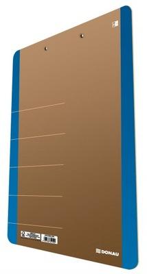 Clipboard DONAU Life, karton, A4, z klipsem, niebi