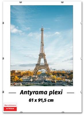 ANTYRAMA NA PLAKAT 61x91,5 - 91,5x61 cm, RAMKA