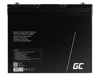 Akumulator do maszyny czyszczącej AGM 12V 80Ah