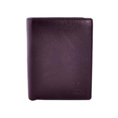 d53769991f2c5 Skórzany portfel męski MARCO - 7 LAT GWARANCJI 7603959301 - Allegro.pl