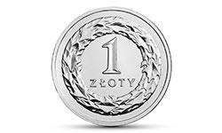1 zł złoty 2020 mennicza od MNC