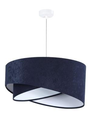 Lampa visí Avena asymetrické tmavo Modré