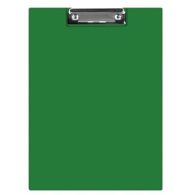 Clipboard teczka PVC A4 zielony podkład z klipem