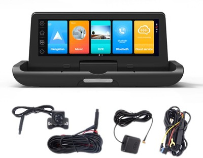 ВИДЕОРЕГИСТРАТОР 2GB 32GB WIFI GPS ANDROID 8.1 ADAS 4G