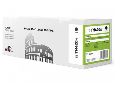 Toner do Brother TN420 TB-TN420N BK 100% nowy