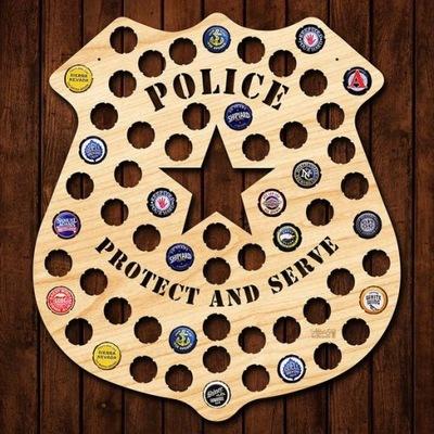 Полиция Эмблема на Колпаки пиво Piwna