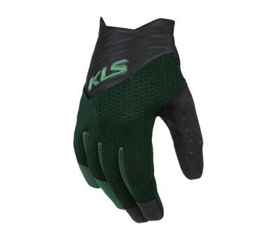 Rękawice KLS Cutout long green S