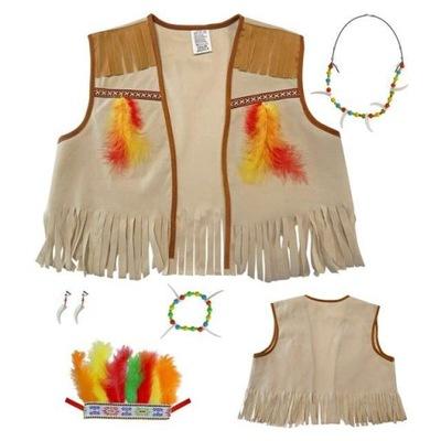 NASTAVIŤ karneval native American Indian APACHE vesta