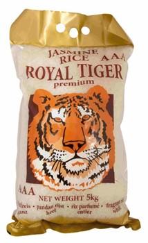 Рис jaśminowy Пандан 5кг Royal Tiger Камбоджа