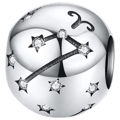 CHARMS ZNAK ZODIAKU BARAN do Pandora srebro 925