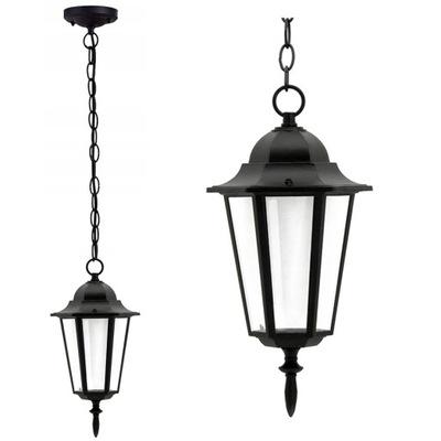 Lampa ogrodowa wisząca zewnętrzna E27 latarnia